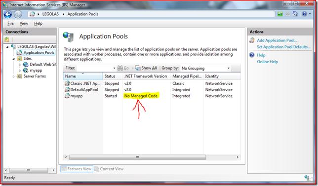 Rails 2 3 0 + IIS7 + FastCGI = Rails on Windows FTW!